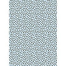 Scribble Dot Blue Wrapping Paper