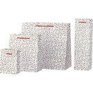 Gold Foil Confetti Dot Gift Bags