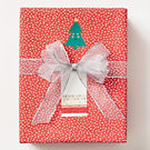 Flurry on Red Wrapping Paper