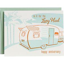 Long Haul RV Anniversary Card