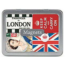 Cavallini London Magnets - Set of 24