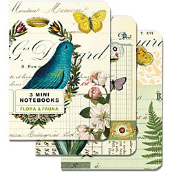Cavallini Mini Flora & Fauna Journals