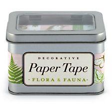 Cavallini Flora & Fauna Paper Tape