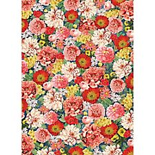 Dark Vintage Floral Wrapping Paper