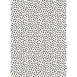 Scribble Dot Blush Wrapping Paper