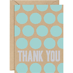 Pool Dot 4 Bar Thank You Notes