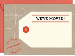 Shipping Tag A7 Printable Moving Announcements