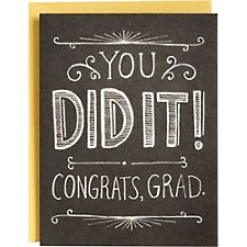 Chalkboard Graduation Card