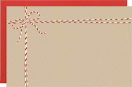 Bakers Twine A9 Printable Party Invitation