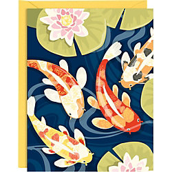 Koi Pond A2 Stationery