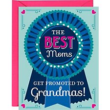 Blue Ribbon Grandma Mother's Day Card