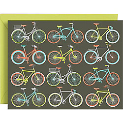 Ride On Bicycle A2 Stationery - Set of 10