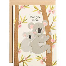 Koalas A6 Mother's Day Card