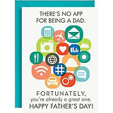 Dad App Father's Day Card