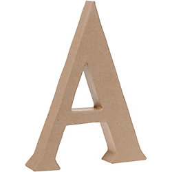 Uppercase A Craft Letter