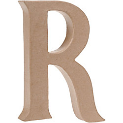 Uppercase R Craft Letter