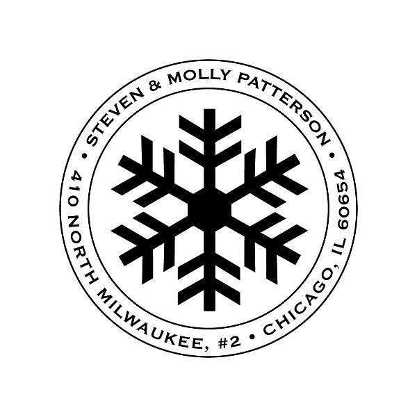 Snowflake Custom Stamp