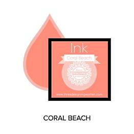 Coral Beach Replacement Inkpad for Custom Stamps