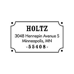 Nameplate Custom Stamp