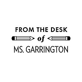 From the Desk of Pencil Custom Stamp