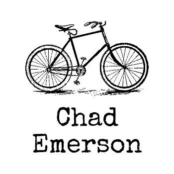 Bicycle Name Custom Stamp