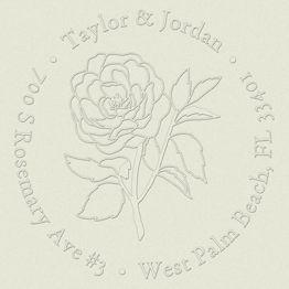 Sketch Rose Embosser