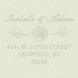 Seashells Custom Embosser