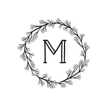 Monogram Custom Stamp Designs