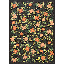 Rifle Paper Co. Midnight Floral Wrapping Paper