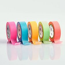 Neon Solid Washi Tape