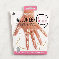 Halloween Glitter Tattoos