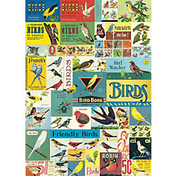 Cavallini Vintage Birds Wrapping Paper