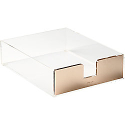 kate spade new york Gold Desk Tray