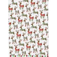 Paper Source Dashing Reindeer Tea Towels