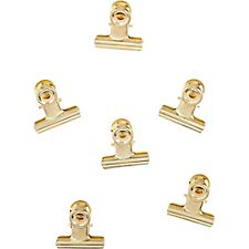 Medium Bulldog Gold Binder Clips