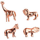 Copper Safari Animal Magnets