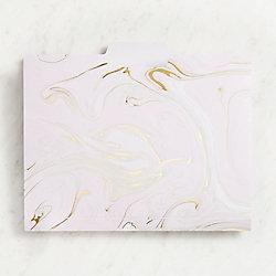Blush Marble Filefolders