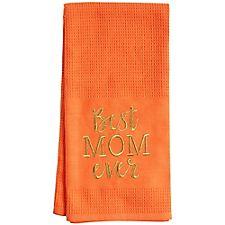 Best Mom Waffle Tea Towel