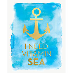 Vitamin Sea Art Print