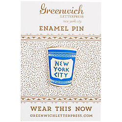 NYC Coffee Enamel Pin