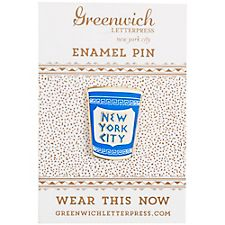 NYC Coffee Enamel Pin