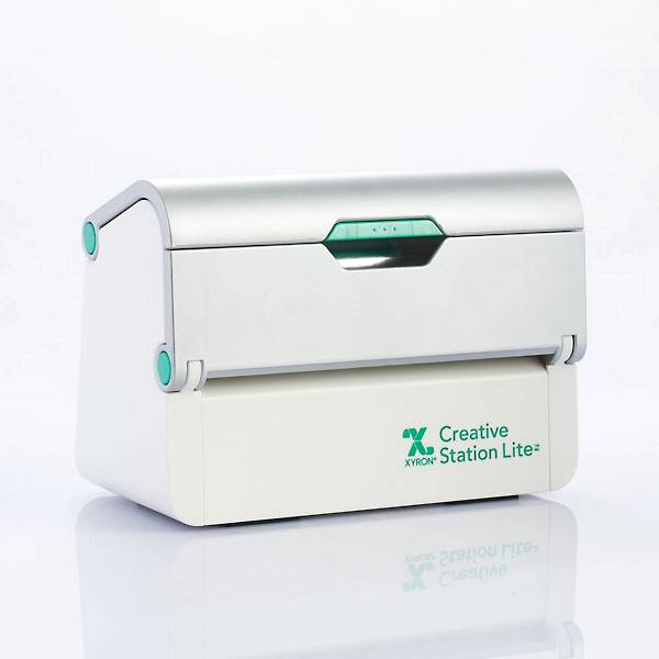 The Xyron Creative Station Lite. A compact all-in-one tool for adding adhesive, magnet or lamination to projects.