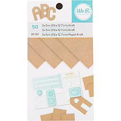 Kraft and Foil 3x5 Pad