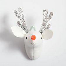Deer Bust Head Plush