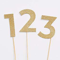 Vintage Party Number Picks