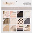 Blush Black & Gold Designer Cardstock Paper