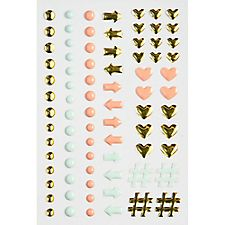 Planner Love Enamel Stickers