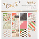 Summer Fun with Gold Foil 6x6 Designer Paper Pad