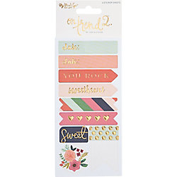 On Trend Multipack Stickers