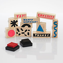 Festive Rubber Stamp Kit